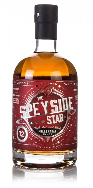 The Speyside Star - Millennial Range BR001 50% (North Star Spirits)