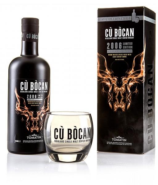 Tomatin Cú Bócan 2006 Limited Edition inkl. Glas