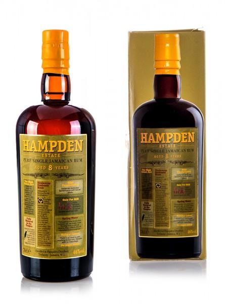 Hampden Pure Single Jamaican Rum 8 Jahre