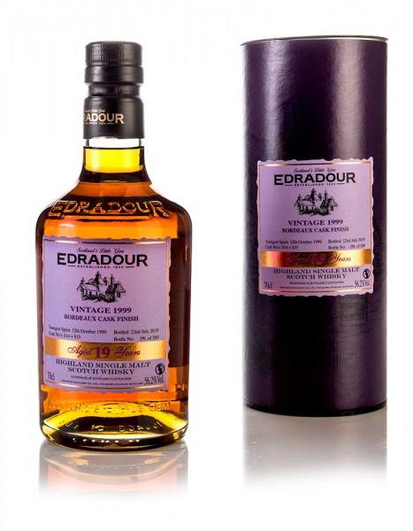 Edradour 1999/2019 Bordeaux Finish Casks
