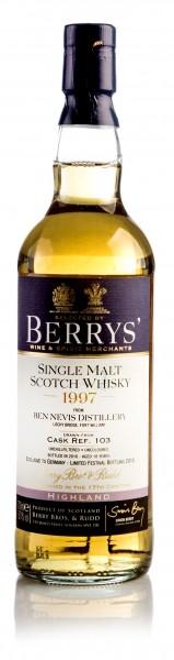 Ben Nevis 1997 / 2018 Berry Bros. & Rudd
