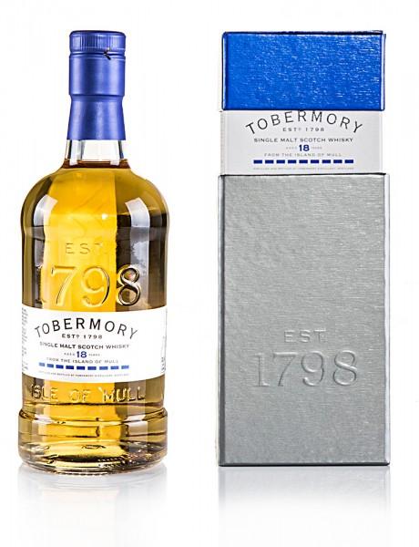 Tobermory 18 Jahre Ex-Bourbon Cask
