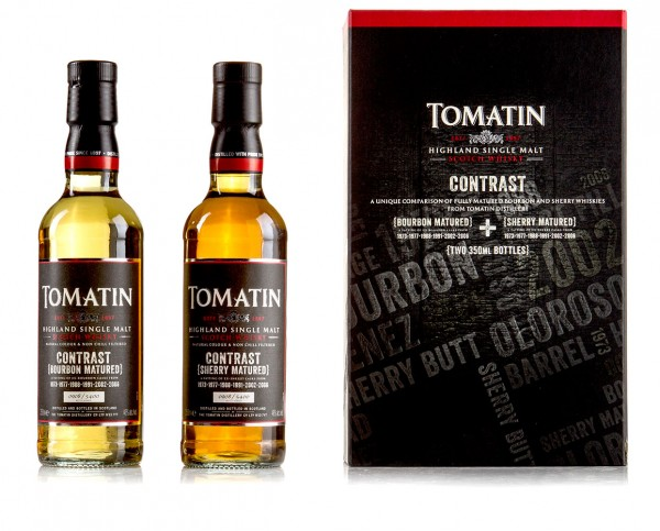 Tomatin Contrast Limited Edition Set 2x0,35 Liter