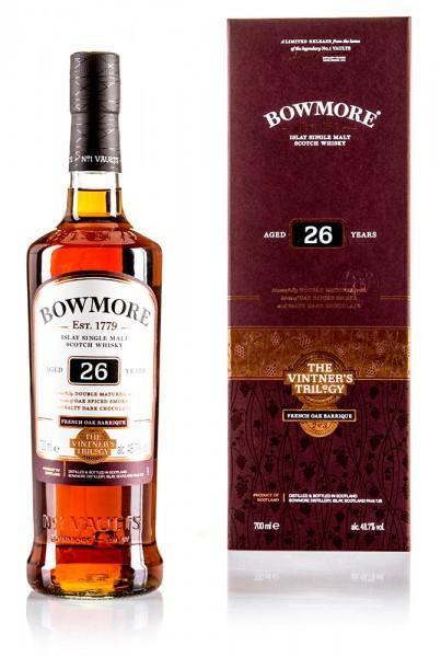 Bowmore 26 Jahre - Vintner's Trilogy