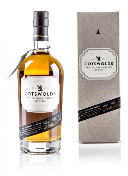 Cotswolds Single Malt Whisky 2014 Odyssey Barley