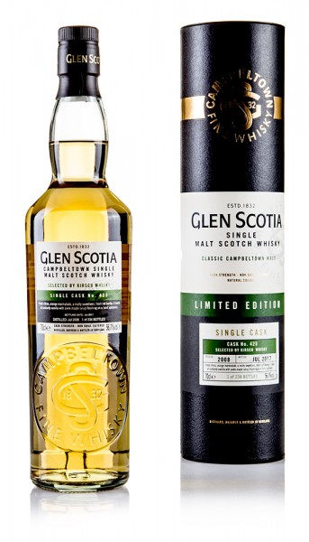 Glen Scotia 2008/2017 Single Cask Selected BY Kirsch Whisky