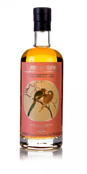 Tobermory 2010 Spirits Shop' Selection Sansibar Whisky
