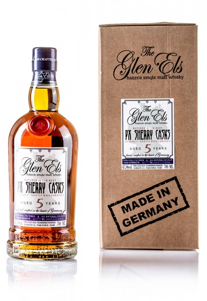 The Glen Els 2012/2017 PX Sherry Casks Gently Woodsmoked