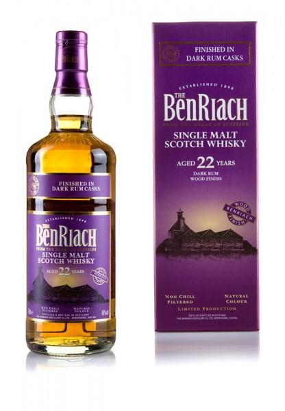 BenRiach 22 Jahre Dark Rum
