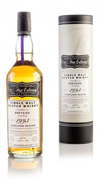 Speyside Distillery 1993 / 24 Jahre Edition Spirits