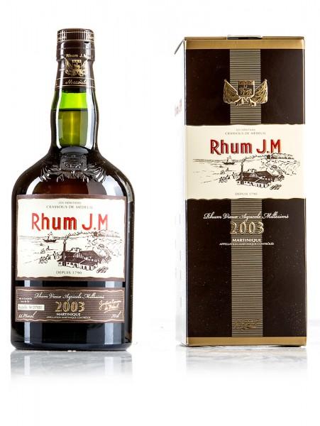 J.M Rhum Vintage 2003