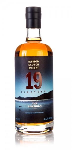 Blended Scotch Whisky 19 Jahre Sansibar Whisky