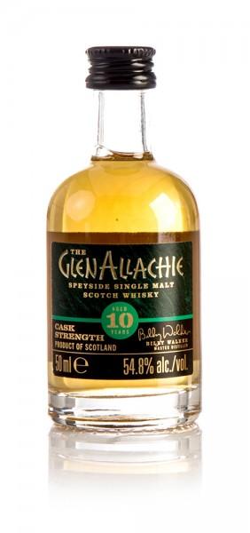 GlenAllachie 10 Jahre Cask Strength Batch 2 Miniatur