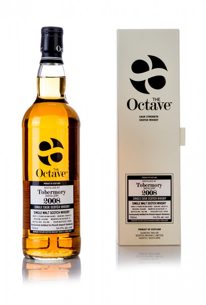 Tobermory 2008 The Octave Duncan Taylor / Kirsch Whisky Exklusiv 11 Jahre