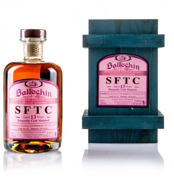 Ballechin 13 Jahre STRAIGHT FROM THE CASK (Burgundy Cask)